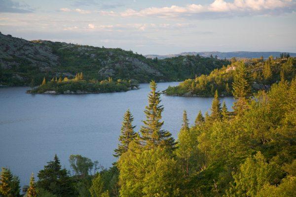 Norway - Setesdal - Austheiane: Mjåvatn