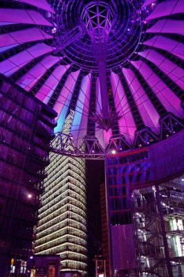 Germany - Berlin - Potsdamer Platz - Sony Centre