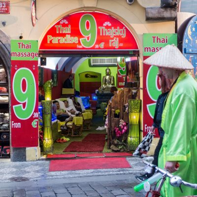 Prague - Shops - Thai massage